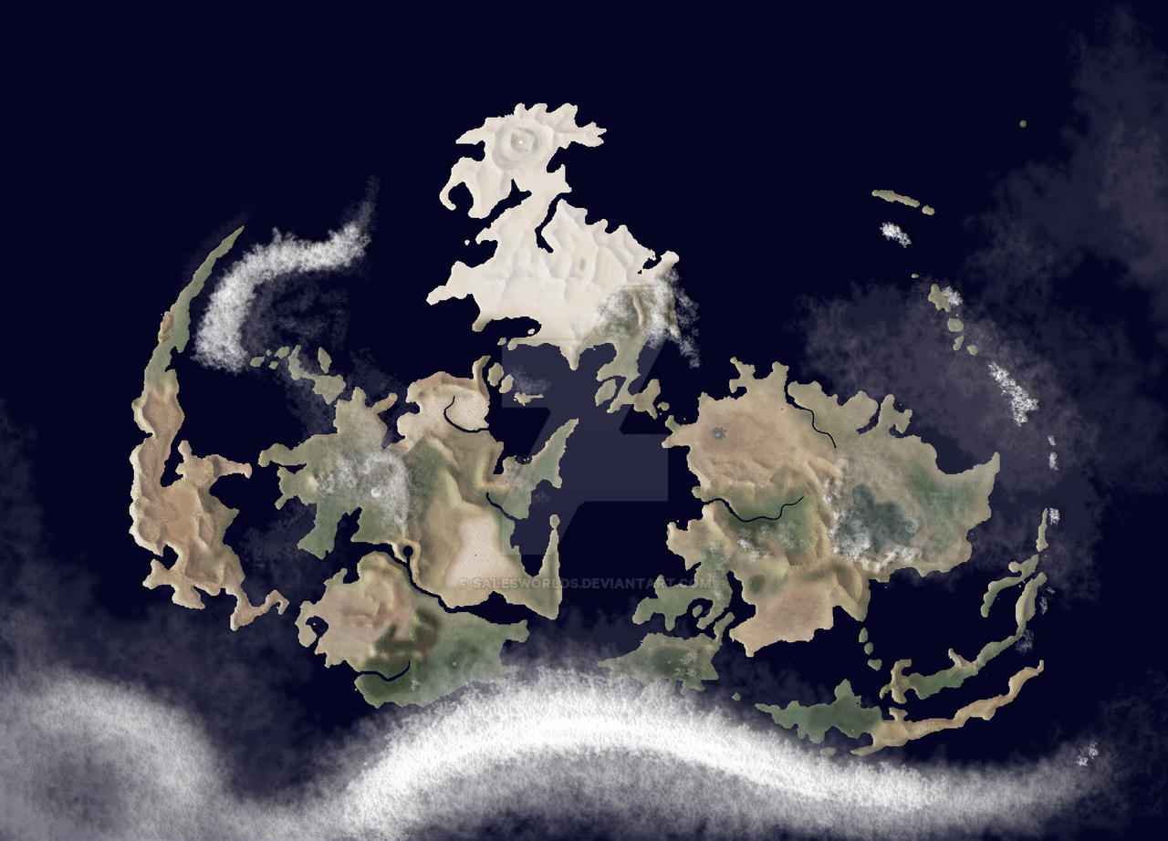 Gaia FF7 meteo map by SalesWorlds