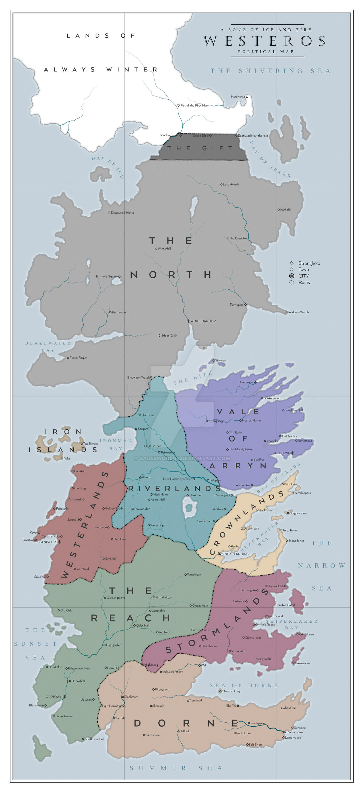 Westeros Political by SalesWorlds
