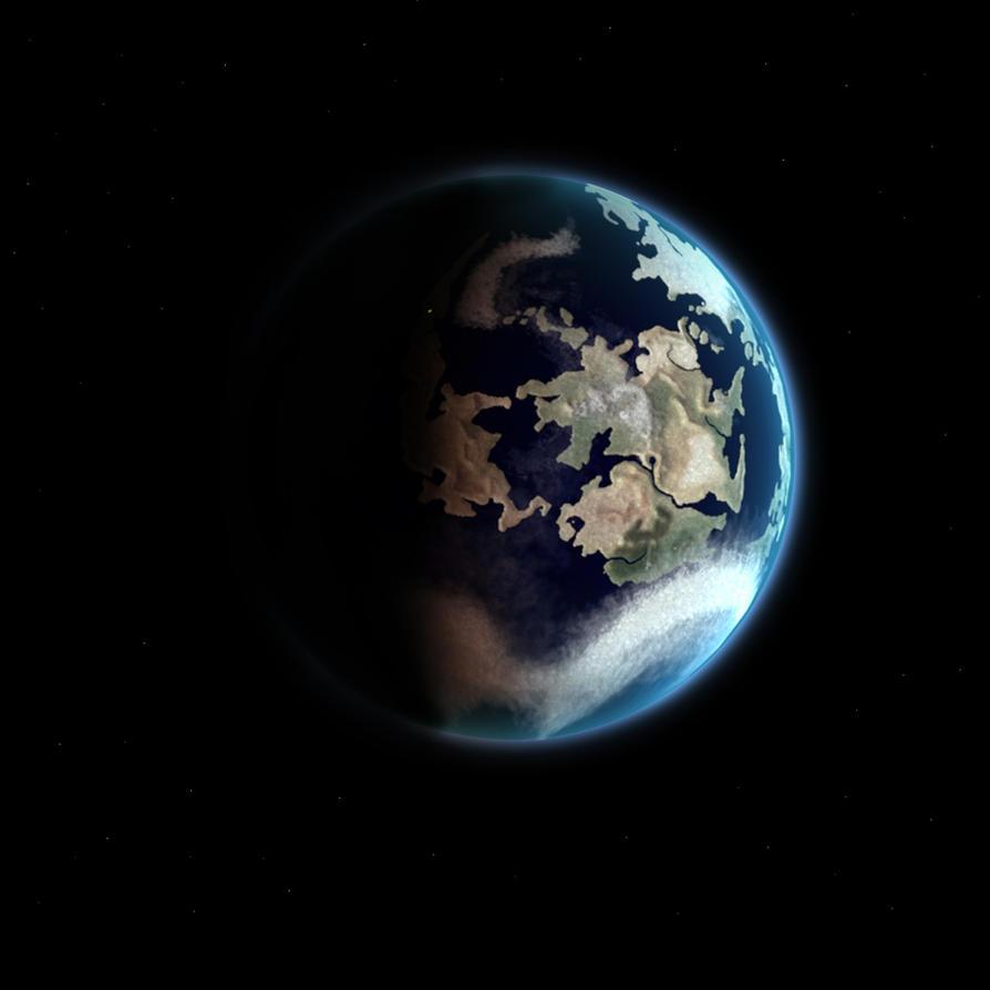 Gaia, Final Fantasy VII planet by SalesWorlds