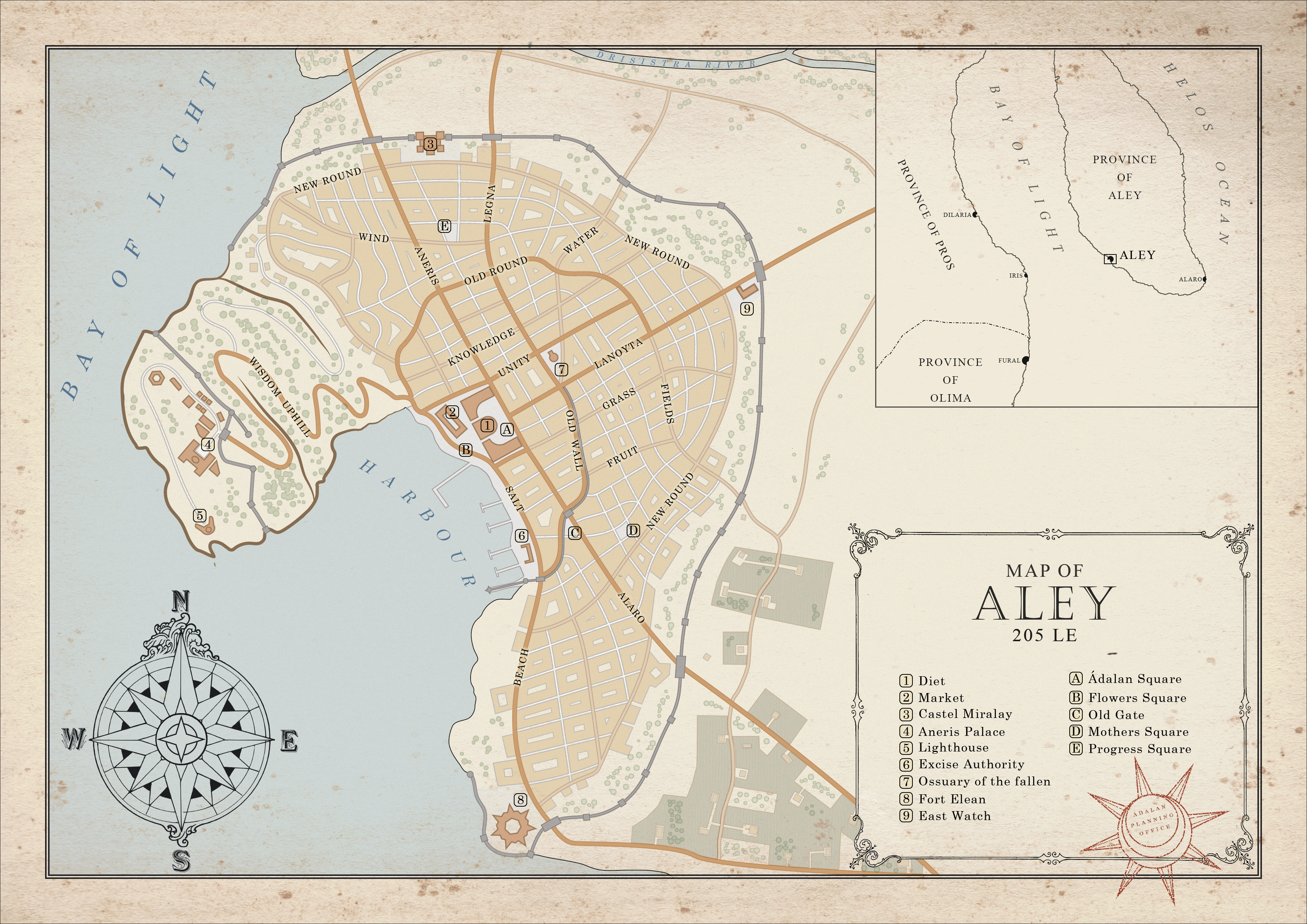City of Aley by SalesWorlds