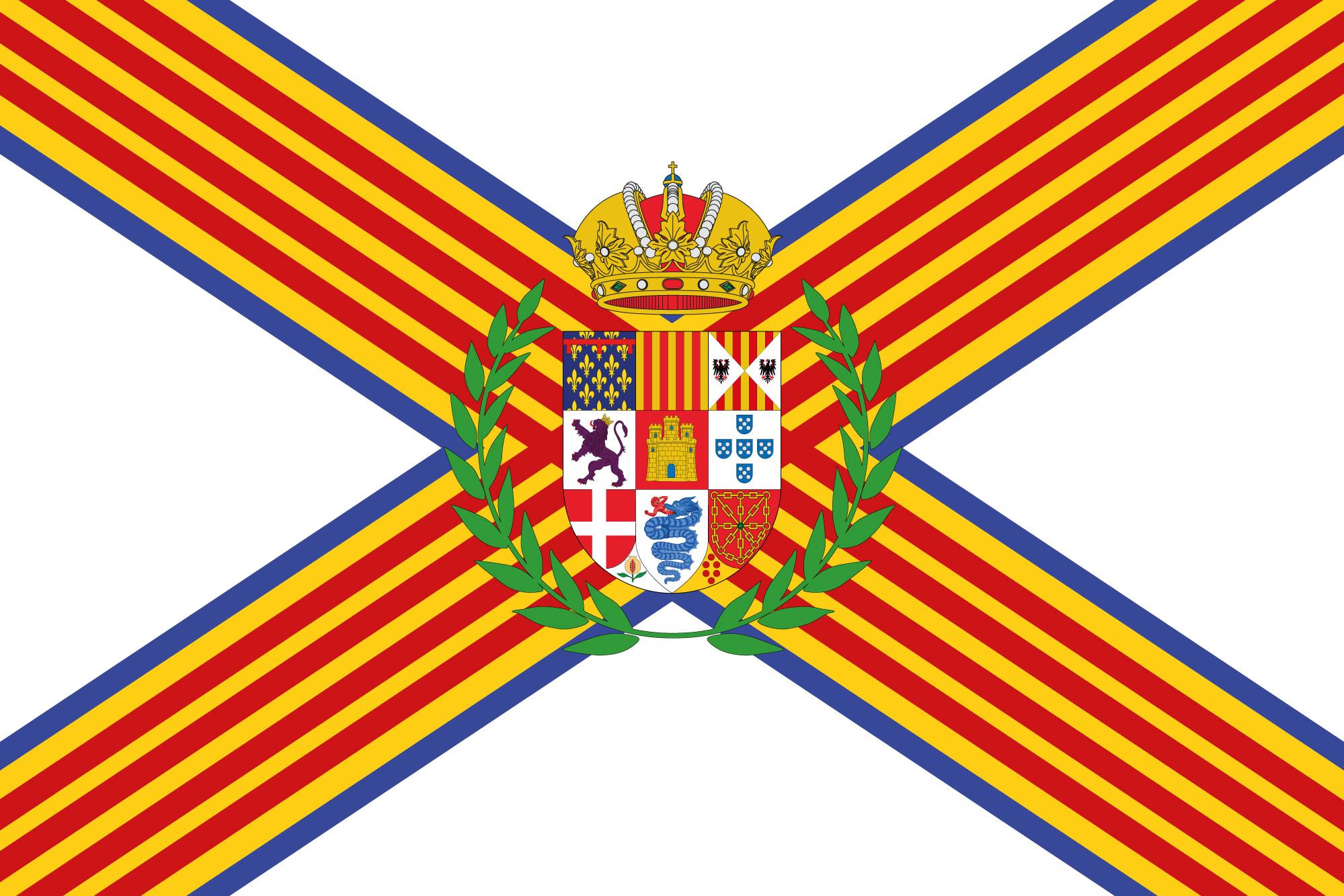 Mediterranean Kingdom flag by SalesWorlds