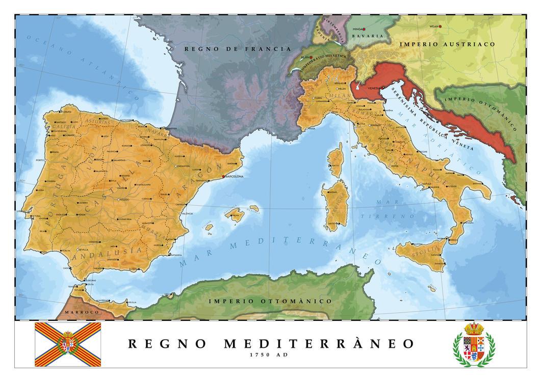 Regno Mediterraneo - Mediterranean Kingdom by SalesWorlds