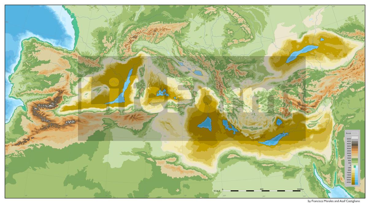 Mediterranean Desert - comm for Asaf Castigliano by SalesWorlds