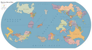 Evol political map