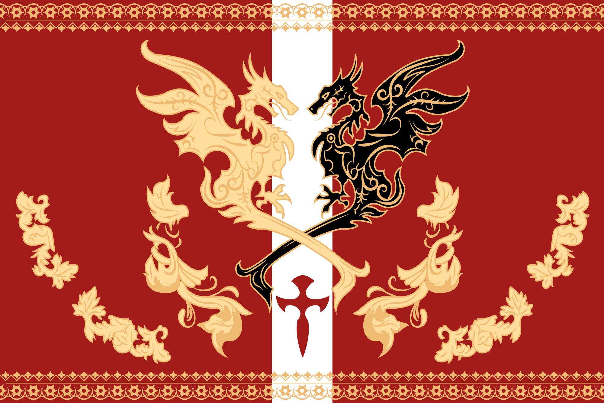 Niflheim empire flag - Final Fantasy XV by SalesWorlds