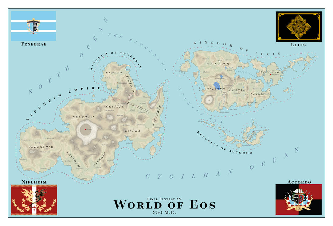 World of Eos 350ME - Final Fantasy XV by SalesWorlds on ...