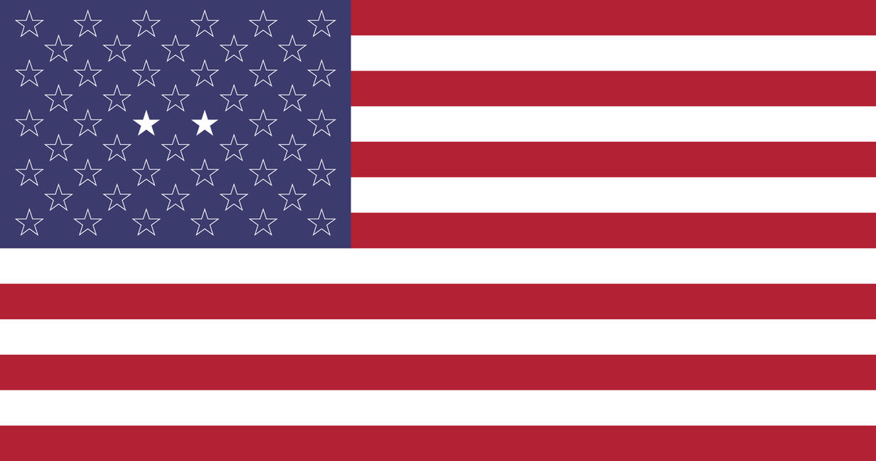 Flag of the United States during II Civil War by SalesWorlds