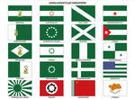 Andalusian flag variations