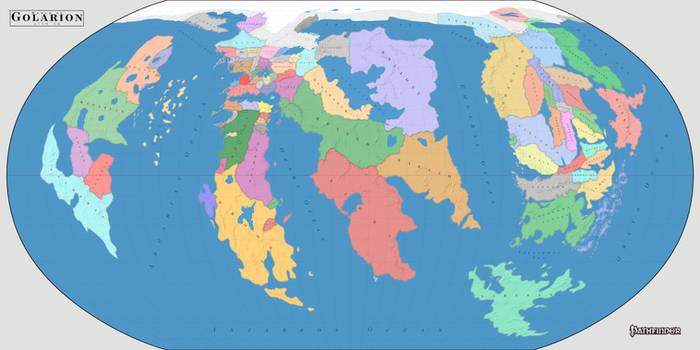 World of Golarion 4720 AR - political