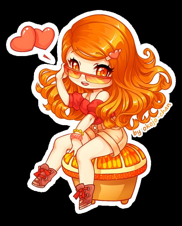 AT - Orange Girl by Nukababe