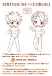 Chibi Pose Reference (Ultimate Chibi Base Set #3)