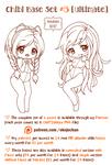 Chibi Pose Reference (Ultimate Chibi Base Set #5)