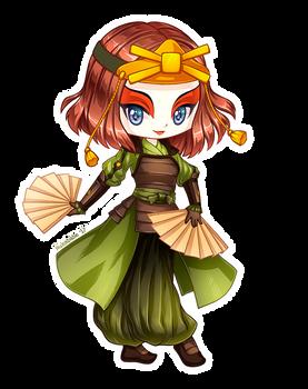 Suki of Kyoshi Warriors