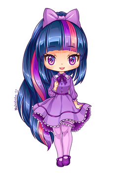 Twilight Sparkle of MLP [Chibi]