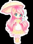 Fluttershy of MLP [Chibi]