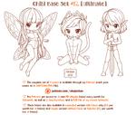 Chibi Pose Reference (Ultimate Chibi Base Set #12)