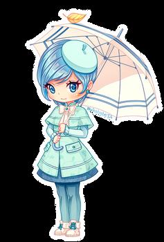 Girl with Umbrella [OC Nuka]