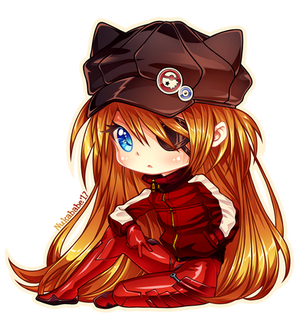 [+Video] Asuka Langley Chibi