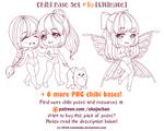 Chibi Pose Reference (Ultimate Chibi Base Set #46)