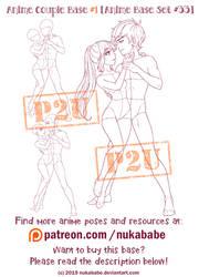 Couple Pose Reference | Couple Base | P2U Base
