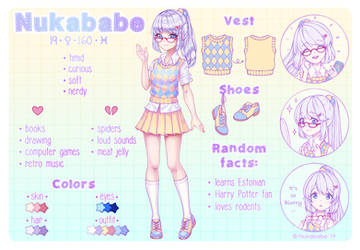 Nukababe Reference Sheet by Nukababe