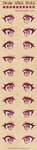 Anime Eyes Reference by Nukababe