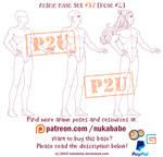 Male Pose Reference   P2U Base   Male Base