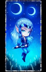 Skywise [Elfquest Fan Art] by Nukababe