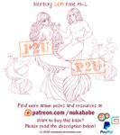 Couple Mermaid Base | Couple Base | P2U Base by Nukababe