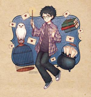 The Beginning [Harry Potter Fanart]
