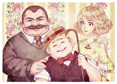 The Dursleys  [Harry Potter Fanart]