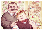 The Dursleys  [Harry Potter Fanart]