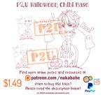 P2U Chibi Halloween Base by Nukababe