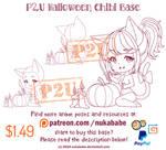 P2U Chibi Halloween Base