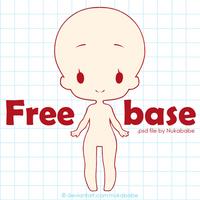 F2U chibi base | free base | mini chibi base F2U