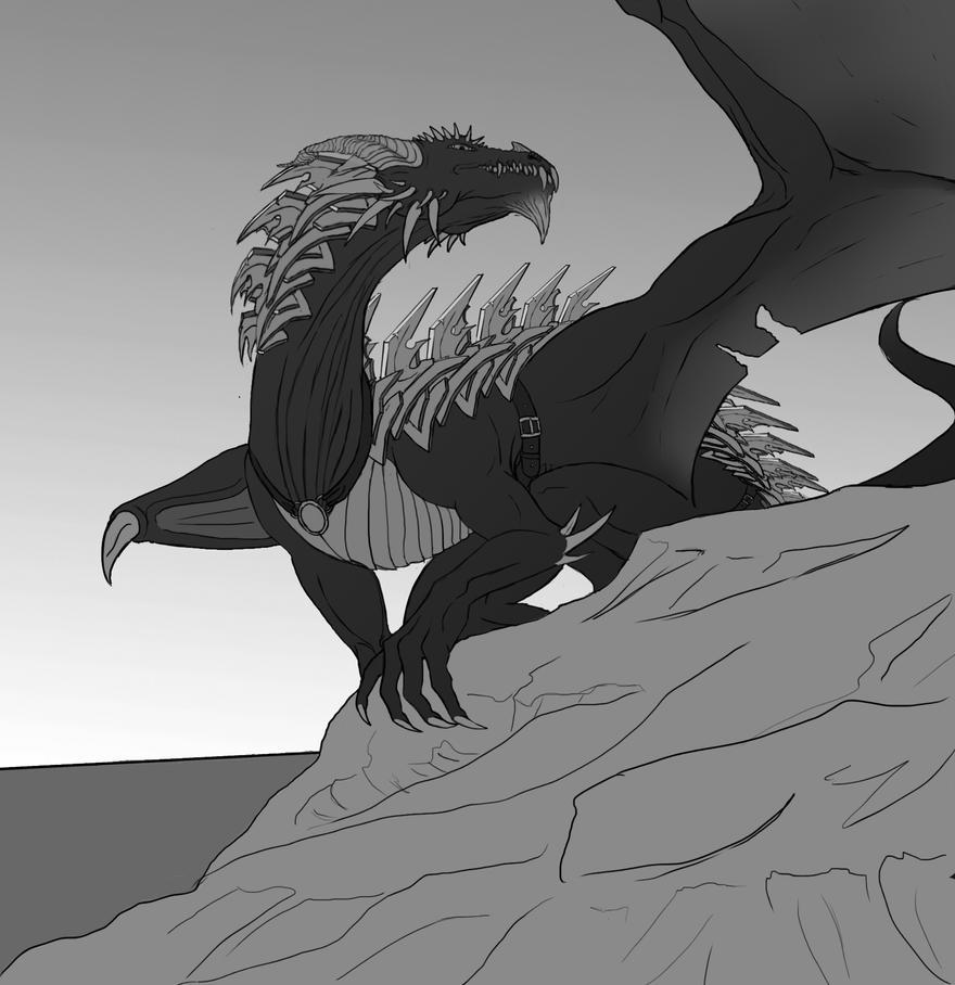 Dragon Free to use!!! by KatrineTindlund