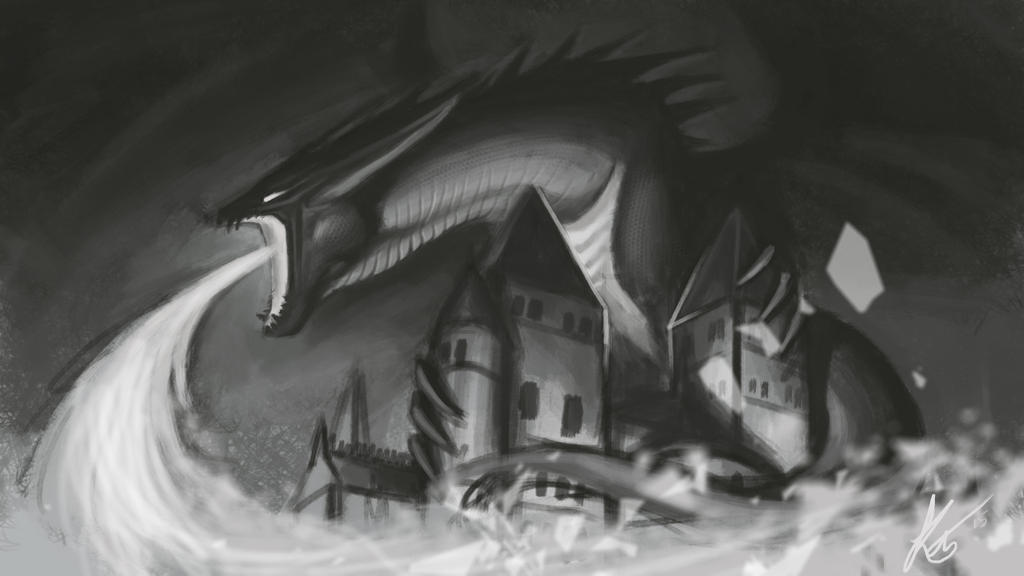 Dragon City by KatrineTindlund