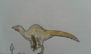 Deinocheirus mirificus: the SpoonbillCamel
