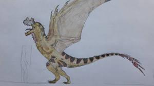 Theropod dragon
