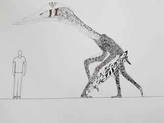 Nemegtian catapult bear by paleosir