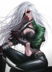 Mercenary Katarina by seo-love
