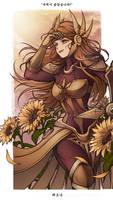 Leona x sunflower by seo-love