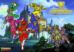 Oukoku Sentai SHOUKENGER wallpaper version