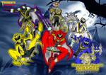 Mangetsu Sentai KIBAGER wallpaper version