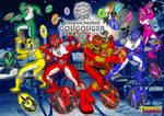 Enryuu Sentai GOUGOUGER wallpaper version