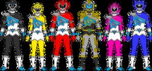 Kekkyojin Sentai HYOUKIGER by thunderyo