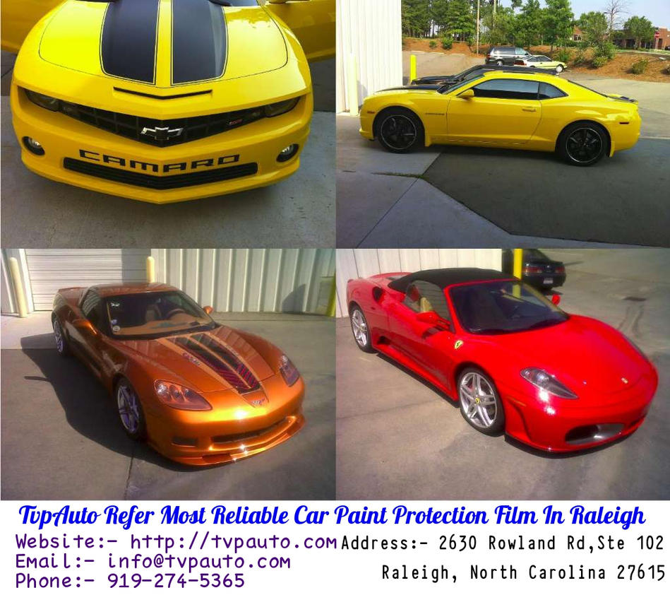 TvpAuto Refer Most Reliable Car Paint Protection F By