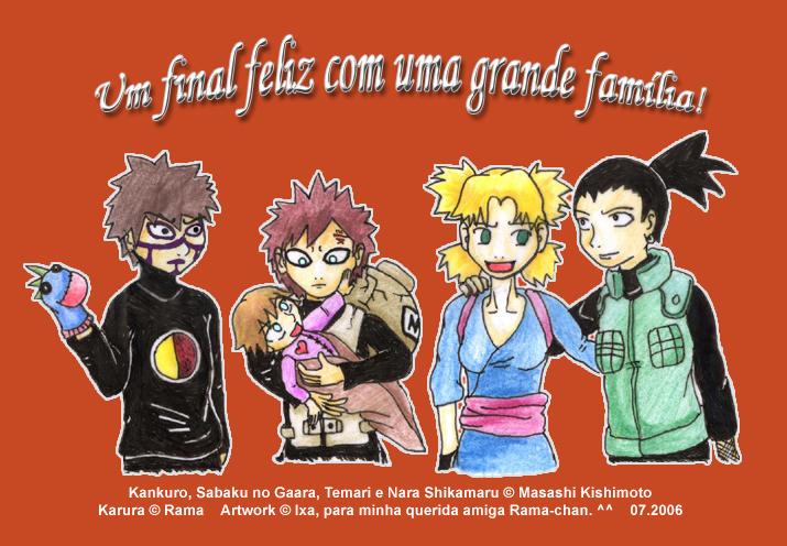 Temari's Happy Family by Ixa-Chan