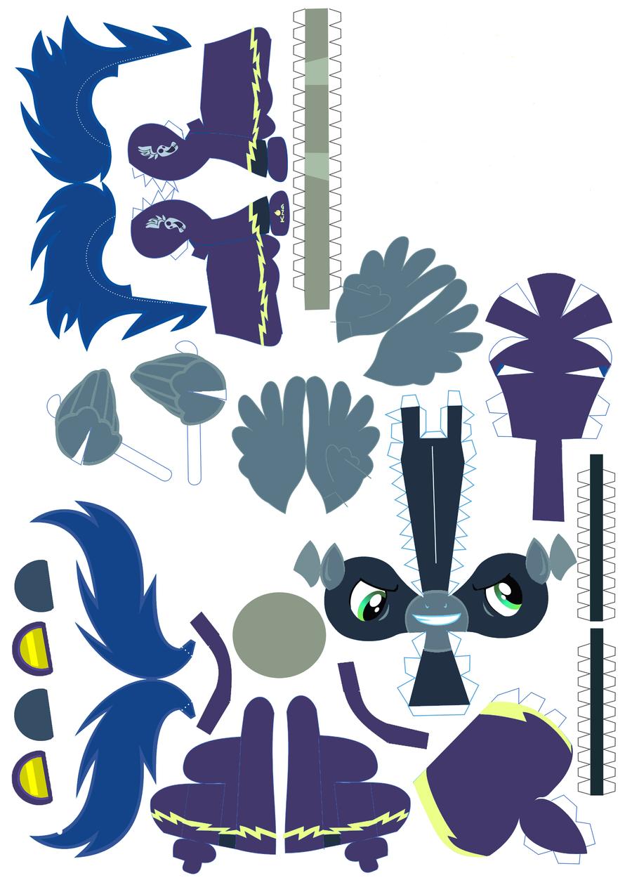 ShadowBolt PaperCraft by Jrakob