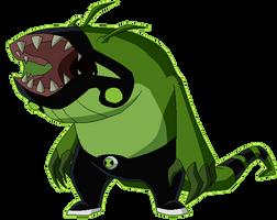 Ben 10 Omniverse New alien Spitter by derp99999